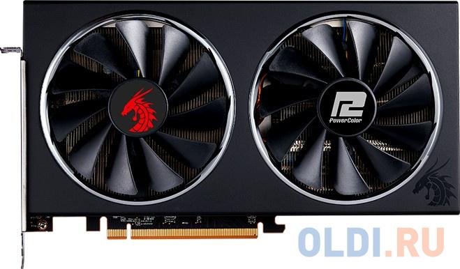 Видеокарта PowerColor Radeon RX 5600 XT OC PCI-E 6144Mb GDDR6 192 Bit Retail AXRX 5600XT 6GBD6-3DHR/OC видеокарта msi radeon rx 5700xt evoke oc pci e 8192mb gddr6 256 bit retail rx 5700 xt evoke oc