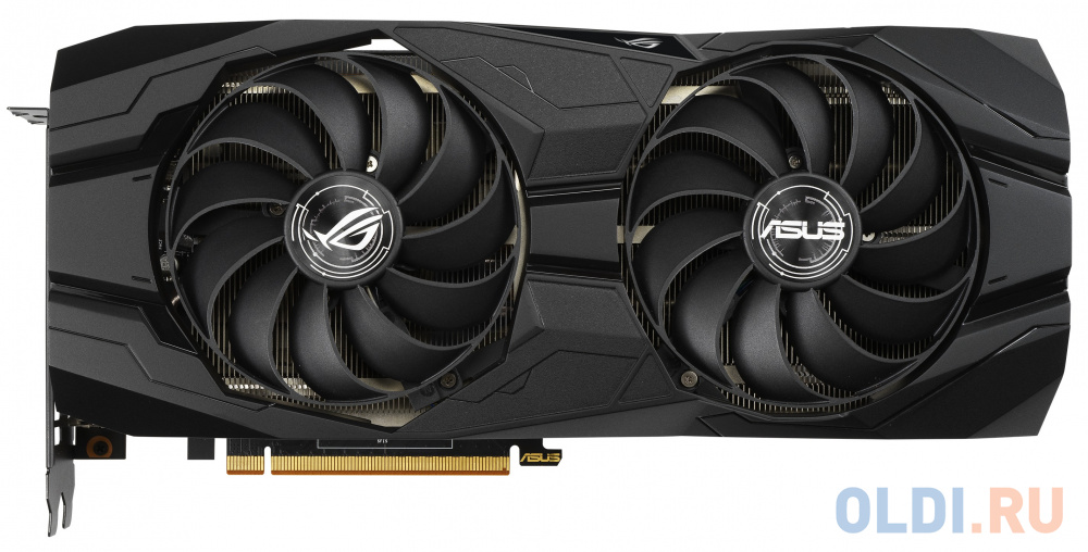 Фото - Видеокарта ASUS Radeon RX 5500 XT ROG-STRIX-GAMING PCI-E 8192Mb GDDR6 128 Bit Retail ROG-STRIX-RX5500XT-O8G-GAMING видеокарта asus geforce gtx 1650 super tuf gaming pci e 4096mb gddr6 128 bit retail tuf gtx1650s 4g gaming