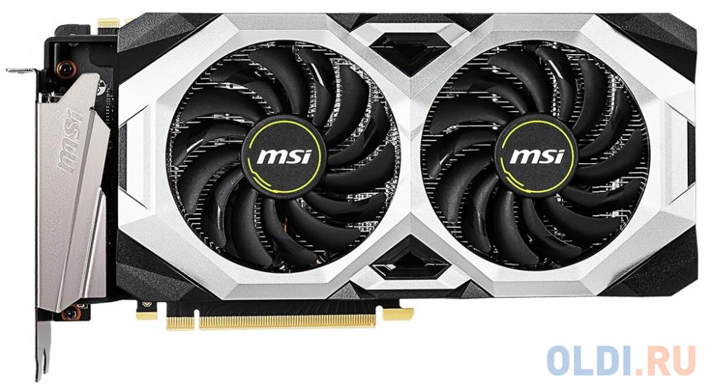 Фото - Видеокарта MSI PCI-E RTX 2070 SUPER VENTUS GP OC nVidia GeForce RTX 2070SUPER 8192Mb 256bit GDDR6 1605/14000/HDMIx1/DPx3/HDCP Ret видеокарта gigabyte pci e gv n208sgamingoc wb 8gd nvidia geforce rtx 2080super 8192mb 256bit gddr6 1845 15500 hdmix1 dpx3 hdcp ret