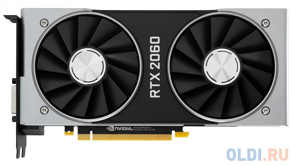 Видеокарта Dell PCI-E 490-BGDO NVIDIA GeForce RTX 2060 6144Mb GDDR6/HDMIx1/DPx1/HDCP oem