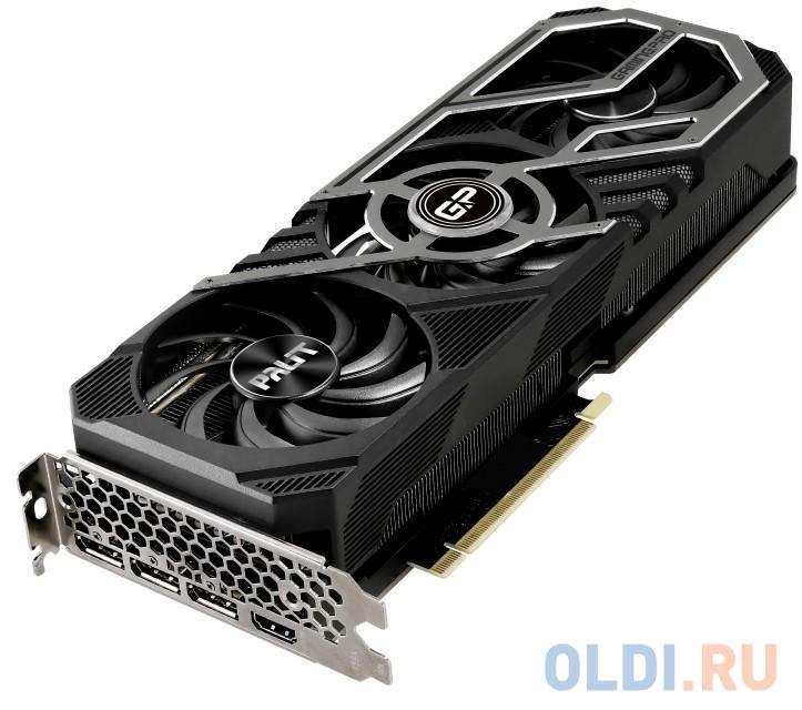 Видеокарта Palit nVidia GeForce RTX 3070 GamingPro OC PCI-E 8192Mb GDDR6 256 Bit Retail NE63070S19P2-1041A