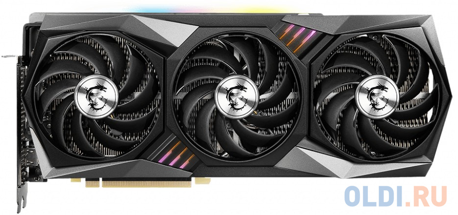 Видеокарта MSI nVidia GeForce RTX 3090 GAMING X TRIO PCI-E 24576Mb GDDR6X 384 Bit Retail