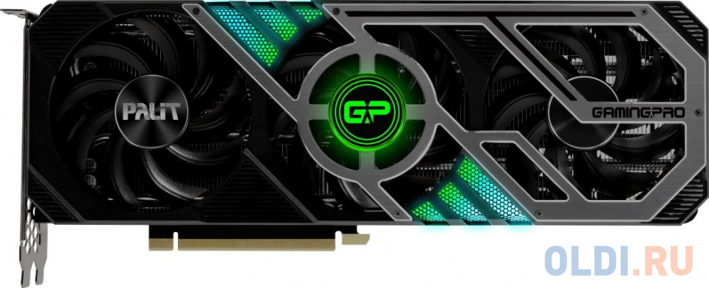 Видеокарта Palit nVidia GeForce RTX 3090 GamingPro PCI-E GDDR6X 384 Bit Retail
