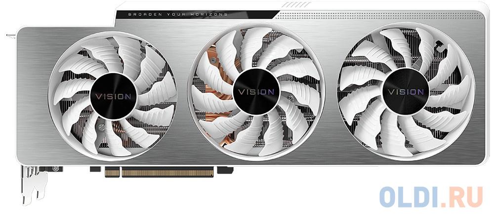 Видеокарта GigaByte nVidia GeForce RTX 3090 VISION OC PCI-E 24576Mb GDDR6X 384 Bit Retail GV-N3090VISION OC-24GD