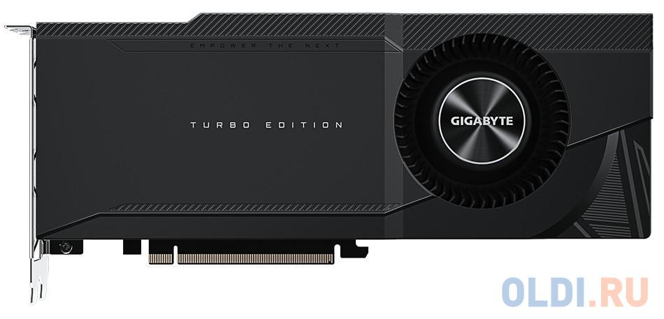 Видеокарта GigaByte nVidia GeForce RTX 3090 TURBO PCI-E 24576Mb GDDR6X 384 Bit Retail GV-N3090TURBO-24GD