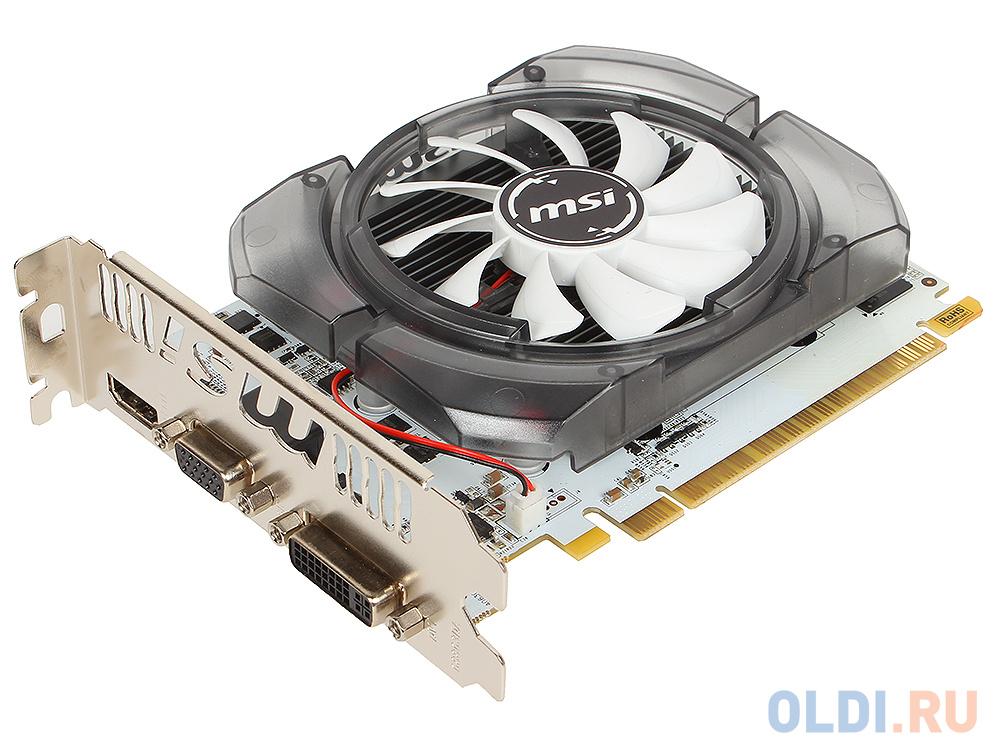 Видеокарта 4Gb PCI-E MSI N730-4GD3V2 GFN730, GDDR3, 128bit, HDCP, VGA, DVI, HDMI, Retail