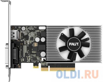 Видеокарта Palit GeForce GT 1030 NEC103000646-1082F PCI-E 2048Mb 64 Bit Retail