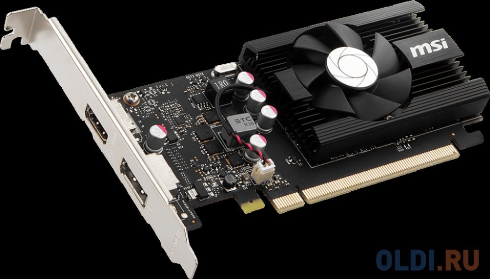 Видеокарта MSI GeForce GT 1030 LP OC PCI-E 2048Mb GDDR5 64 Bit Retail GT 1030 2GD4 LP OC