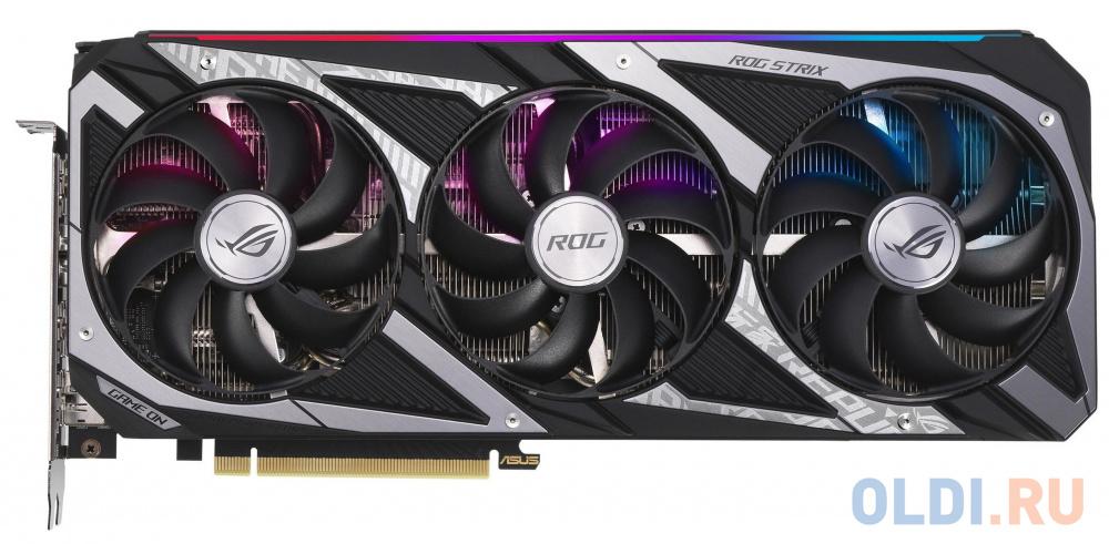 Видеокарта ASUS nVidia GeForce RTX 3060 ROG-STRIX-V2-GAMING LHR 12288Mb ROG-STRIX-RTX3060-O12G-V2-GAMING