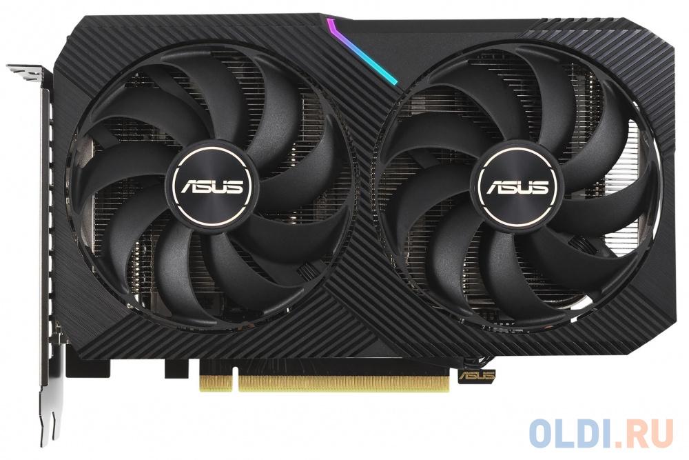 Видеокарта ASUS nVidia GeForce RTX 3060 Ti DUAL V2 MINI OC Edition LHR 8192Mb DUAL-RTX3060TI-8G-MINI-V2