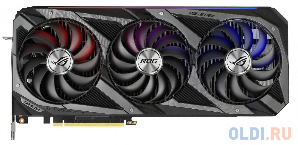 Видеокарта ASUS nVidia GeForce RTX 3080 ROG Strix V2 OC Edition LHR 10240Mb ROG-STRIX-RTX3080-O10G-V2-GAMING