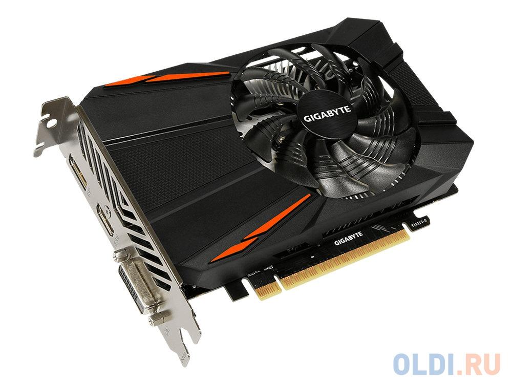 Видеокарта Gigabyte GeForce GTX1050 Ti GV-N105TD5-4GD 4Gb 1316 MHz
