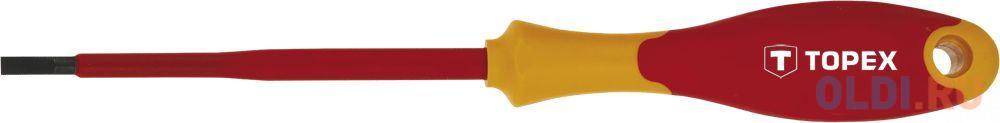 Отвертка шлицевая диэлектрическая TOPEX 39D472