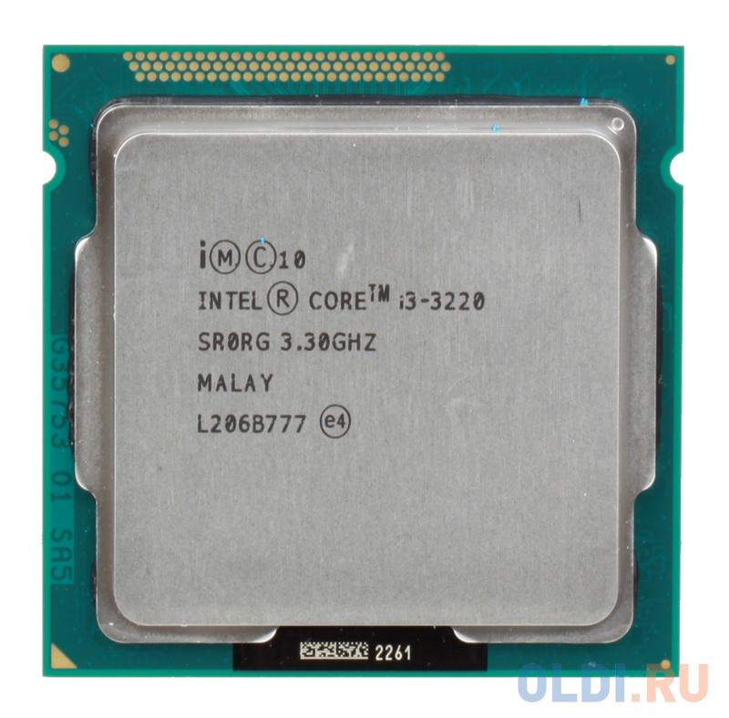 Фото - Процессор Intel Core i3 i3-3220 OEM процессор intel core i3 10100t oem