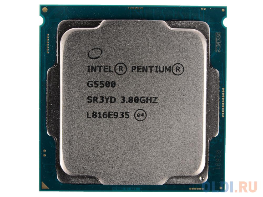 Процессор Intel Pentium Gold G5500 OEM фото