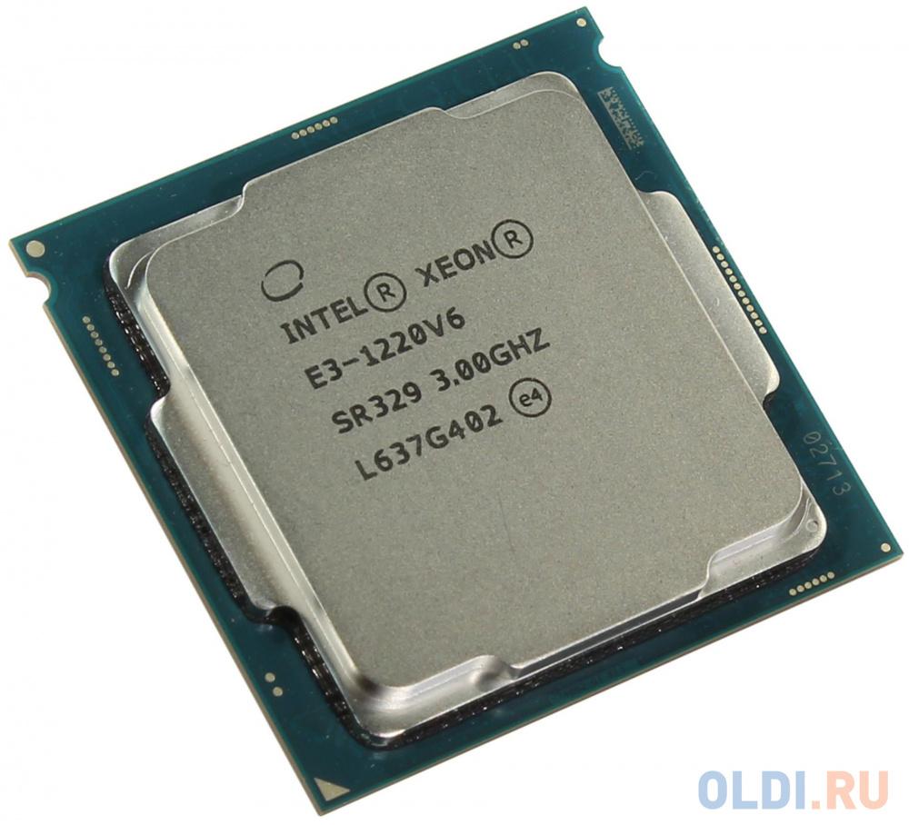 Процессор Intel Xeon E3-1220v6 3.0GHz 8Mb LGA1151 OEM