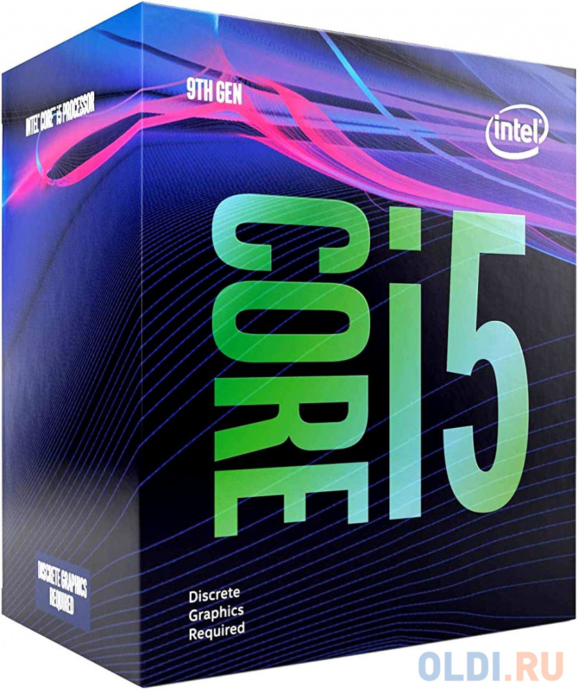 Процессор Intel Core i5 9500F BOX