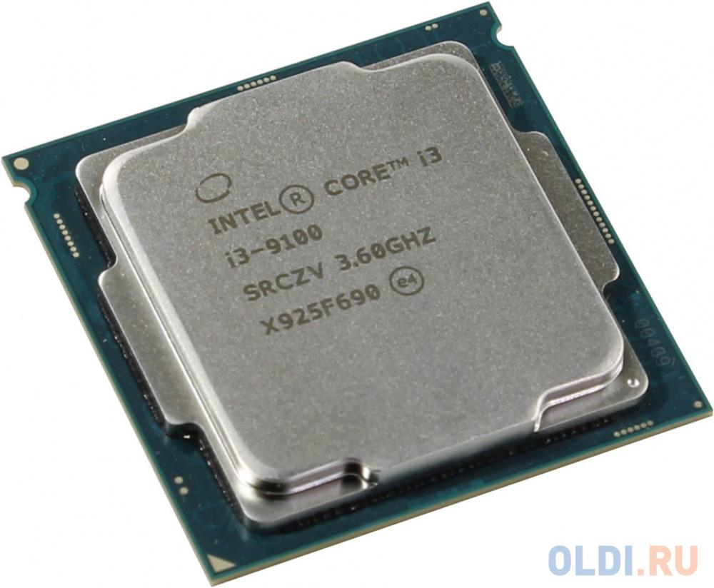 Фото - Процессор Intel Core i3 9100 OEM процессор intel core i3 10100t oem