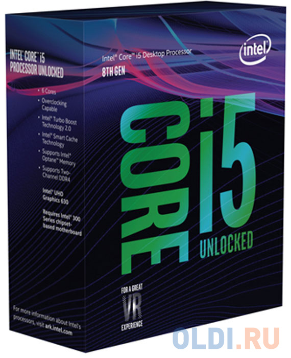 Процессор Intel Core i5-8600 3.1GHz 9Mb Socket 1151 v2 BOX процессор intel core i5 9400f 2 90ghz 9mb socket 1151 v2 box