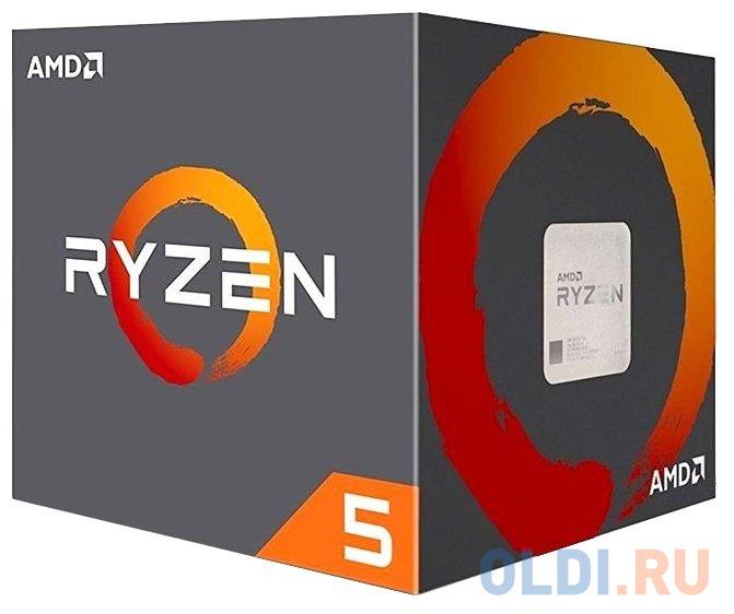 Процессор AMD Ryzen 5 1600 AM4 (YD1600BBAFBOX) (3.2GHz) Box