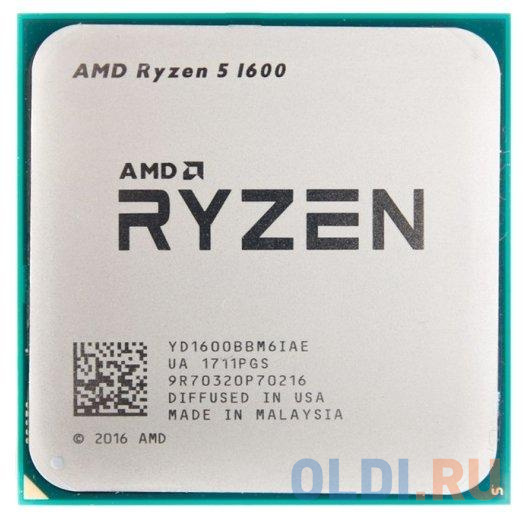 Фото - Процессор AMD Ryzen 5 1600 OEM процессор amd ryzen 5 3600x socketam4 oem [100 000000022]