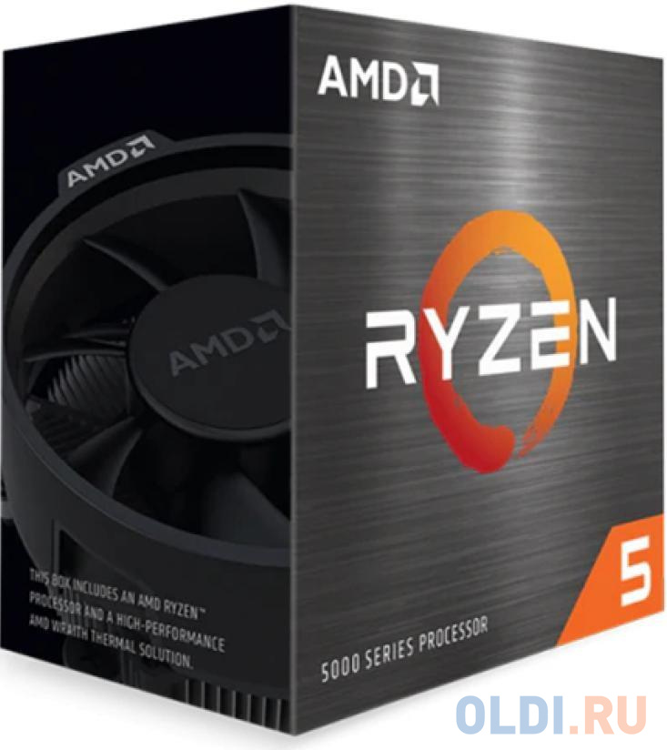 Картинка для Процессор AMD Ryzen 5 5600G BOX 100-100000252BOX