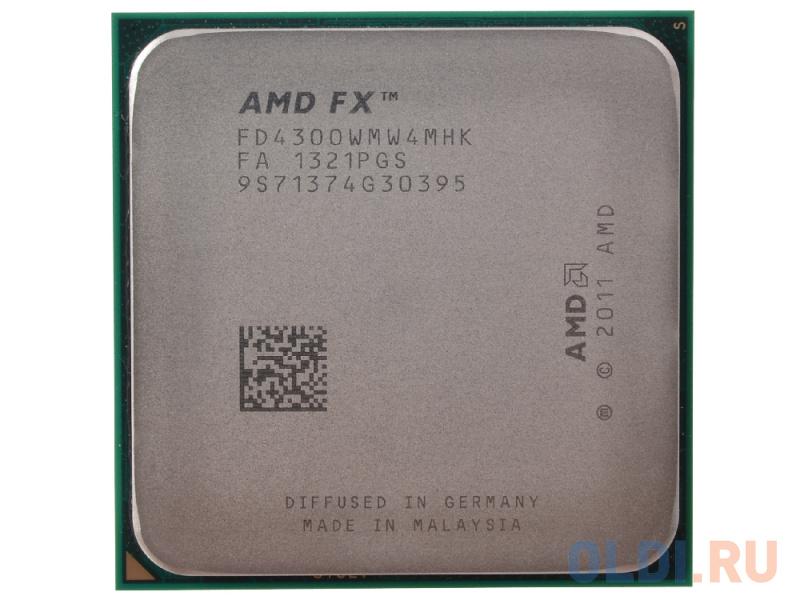 Процессор AMD FX-4300 OEM фото