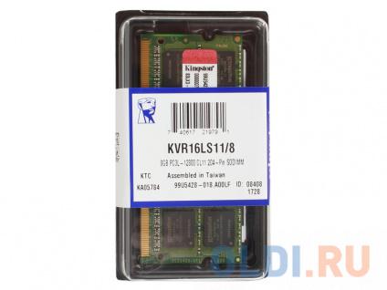 Фото «Оперативная память для ноутбуков Kingston (KVR16LS11/8) SO-DIMM 8Gb DDR3 1600Mhz» в Ростове-на-Дону