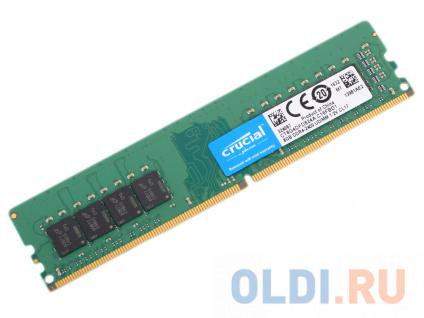 Фото «Память DDR4 8Gb (pc-19200) 2400MHz Crucial Dual Rank» в Москве