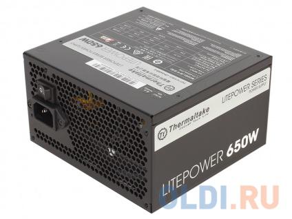 Фото «Блок питания Thermaltake Litepower 650W (PS-LTP-0650NPCNEU-2) v2.3, A.PFC, 80 Plus , Fan 12 cm, Retail» в Нижнем Новгороде