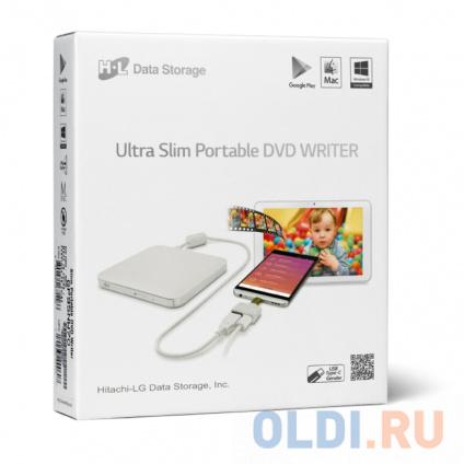 Фото «Оптич. накопитель ext. DVD±RW LG (HLDS) GP95NW70 White» в Ростове-на-Дону