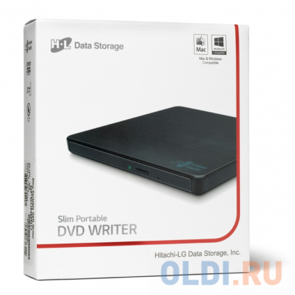 Фото «Оптич. накопитель ext. DVD±RW HLDS (Hitachi-LG Data Storage) GP60NB60 Black» в Ростове-на-Дону