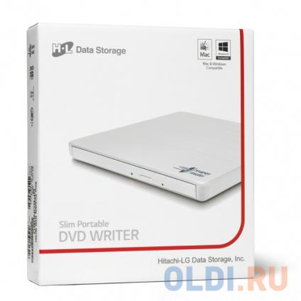 Фото «Оптич. накопитель ext. DVD±RW HLDS (Hitachi-LG Data Storage) GP60NW60 White» в Нижнем Новгороде