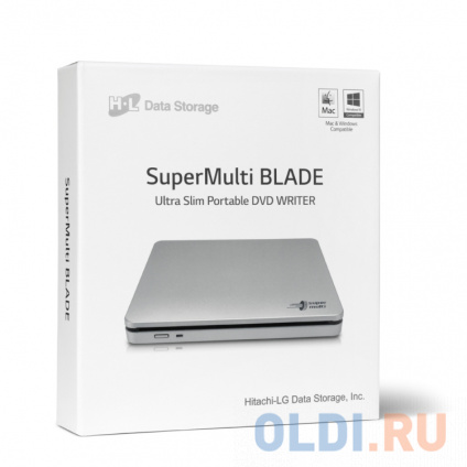Фото «Оптич. накопитель ext. DVD±RW HLDS (Hitachi-LG Data Storage) GP70NS50 Silver» в Нижнем Новгороде