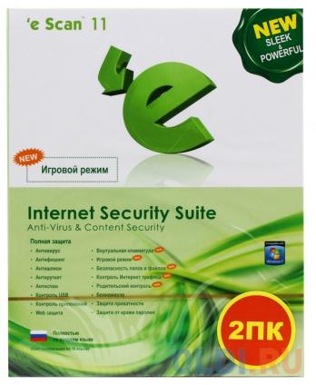 Фото «Антивирус  eScan Internet Security Suite (ES-ISS-1-BO) BOX» в Москве