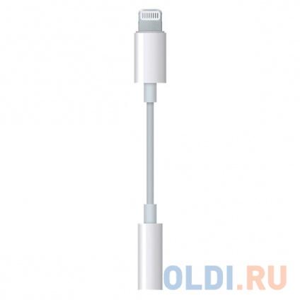 Фото «Переходник Apple Lightning to 3.5мм MMX62ZM/A» в Москве