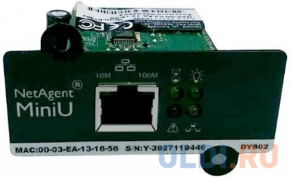Фото «Адаптер Powercom SNMP для ИБП DY802 1 порт» в Ростове-на-Дону