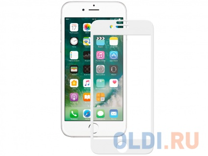 Фото «Защитное стекло 3D Deppa для Apple iPhone 7/8, 0.3 мм, белое» в Екатеринбурге