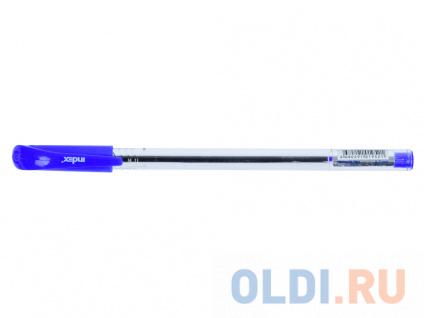 Фото «Шариковая ручка Index IBP800/BU синий 0.7 мм» в Москве