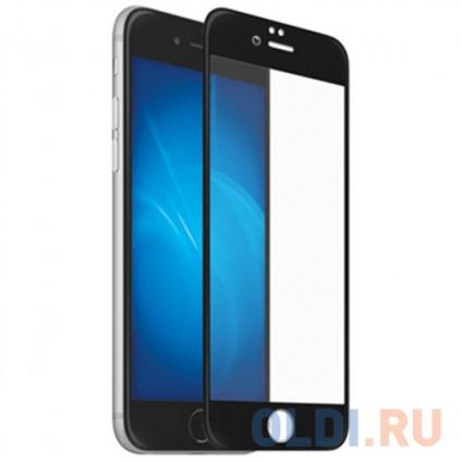 Фото «Закаленное стекло 3D с цветной рамкой (fullscreen) для iPhone 7 Plus/8 Plus DF iColor-12 (black)» в Москве
