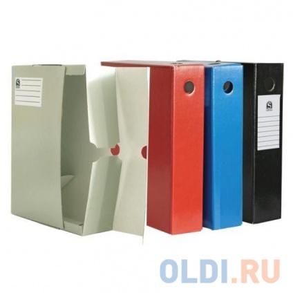 Фото «Лоток-коробка архивный, лакированный микрогофрокартон, 470 г/кв.м, 250x75x315 мм, серый» в Нижнем Новгороде
