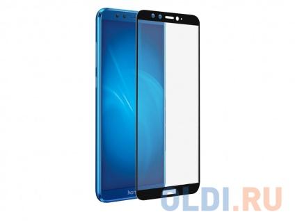Фото «Закаленное стекло с цветной рамкой (fullscreen) для Huawei Honor 9 Lite DF hwColor-36 (black)» в Санкт-Петербурге
