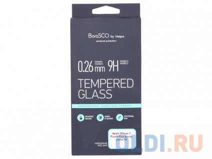 Фото «Защитное стекло 3D IPHONE 7+/8+ 13051 BORASCO» в Санкт-Петербурге