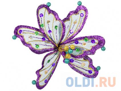 """Фото «Украшение Winter Wings """"Цветок ажур"""" 18 см 1 шт полимер N069890/2» в Новосибирске"""