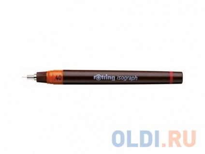 Фото «Рапидограф Rotring 0.40мм съемный пишущий узел/заправка тушь сменный картридж 1903239» в Санкт-Петербурге