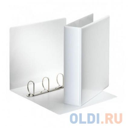 Фото «Папка на 4 кольцах ESSELTE ПАНОРАМА, 75 мм, D 50 мм, белая 49705» в Москве