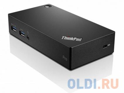 Фото «Док-станция Lenovo ThinkPad USB 3.0 Pro Dock 40A70045EU» в Ростове-на-Дону