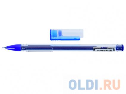 Фото «Гелевая ручка Index IGP600/BU синий 0.6 мм» в Ростове-на-Дону