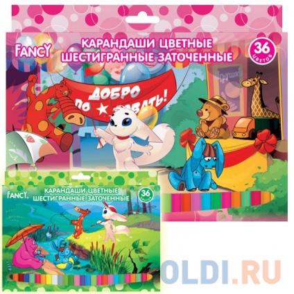 Фото «Набор цветных карандашей Action! Fancy 36 шт FCP101-36» в Санкт-Петербурге