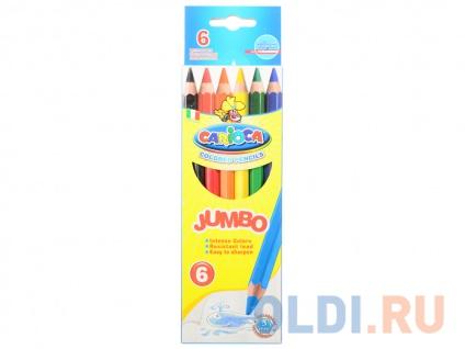 Фото «Набор цветных карандашей Universal Carioca Jumbo 6 шт односторонние 41407/6 41407/6» в Ростове-на-Дону